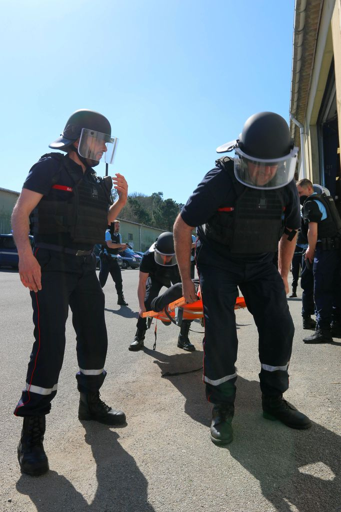 Exercice Alpha attentat Chateaulin 07042017 Yoann Quemeneur 36